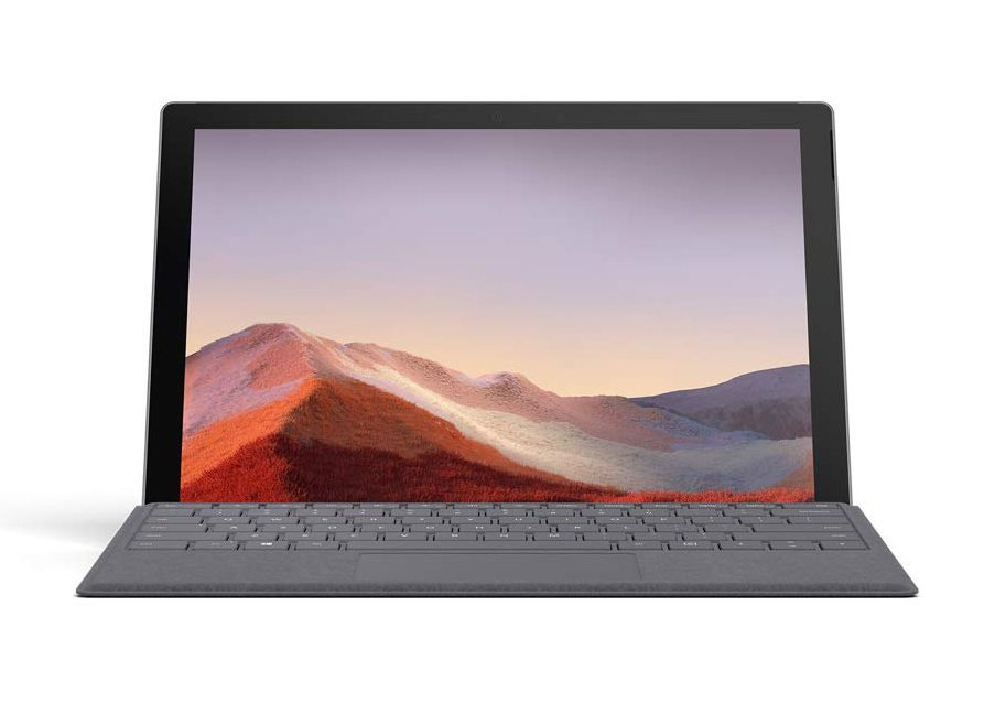 Microsoft Surface Pro 7 detachable laptop