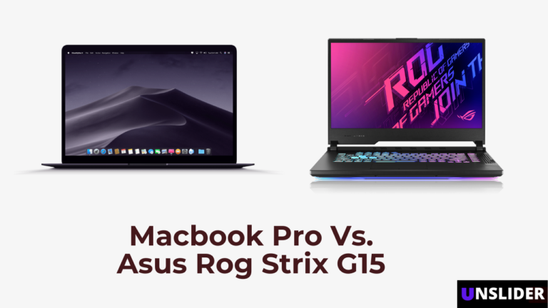 Is the Asus ROG Strix G15 a Good Video Editing Laptop Than the New Macbook Pro